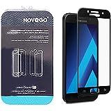 Samsung A3 2017 -NOVAGO® Film protection écran en verre trempé résistant couvre la totalité de l'écran - Noir