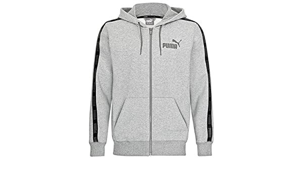 Puma Herren Sweatjacke Rebel Tape FZ Hoody FL 850816 Medium