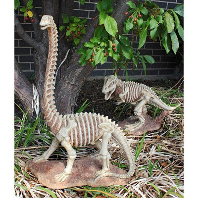 Design Toscano Bad To The Bone, Jurassic Brachiosaurus Dinosaure Statue Brachiosaure