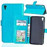 Jepson Alcatel One Touch idol3 5.5(5,5 pouces) Coque PU Cuir Flip Housse Étui Cover Case Wallet Stand avec Carte de Crédit Fentes pour