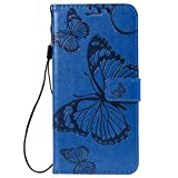 Huawei Y7 2019 Phone Case, PU Leather Wallet Phone Cover