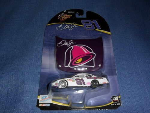 2004-dale-earnhardt-jr-81-taco-bell-monte-carlo-1-64-scale-diecast-with-matching-magnet-hood-winners