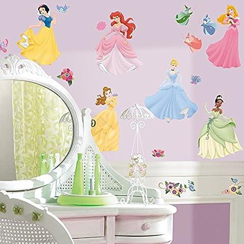 RoomMates - RMK1470SCS - Disney Princesses Stickers Muraux