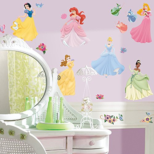 Click for larger image of RoomMates Disney Princesses Wall Stickers