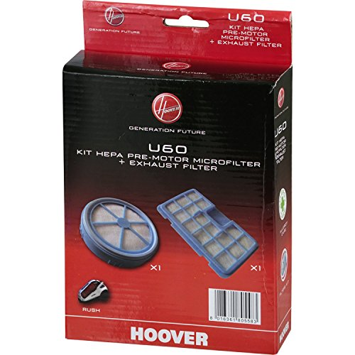 Hoover 35600936 Kit Filtro Pre-Motore e Filtro Scarico Motore U60