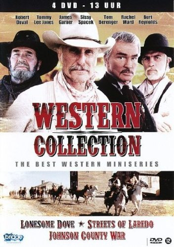 Western Collection: Lonesome Dove / Streets of Laredo / Johnson's County War (4 DVDs)