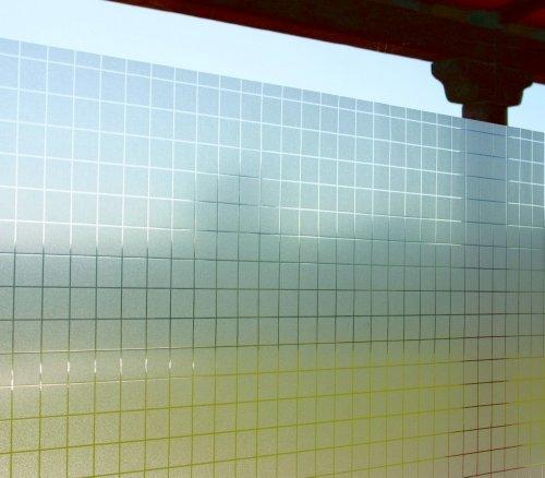 LINEA Fix Dekorfolie statische Fensterfolie Check Karo Größenwahl: 0.92m x 10 m
