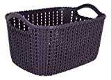 #4: Shag ABS Plastic Set of 2 Vegetable Storage Basket Fruit Storage Organizer and towels, books, toys Storage Basket