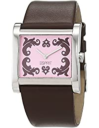 Esprit ES2DB62A5869.E07 - Reloj de pulsera Mujer, Cuero, color Marrón