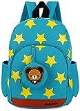 Rucksack Kindergarten Kinder Tasche Kita TüRkis Brustgurt Gurt Schule Reisen LäSsig GüNstig Baby