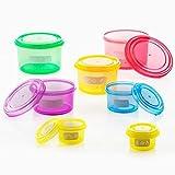 Recipientes Equilibrio Nutricional Alimentos Comer Taper Plastico Tupperware Saludable Tupper Set Kit Cierre Hemetico Pequeñas Dimensiones