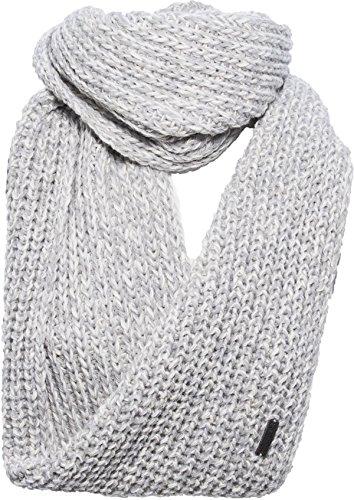 Eisglut Loopschal Patti Mütze, Silber Mel, one size - Alpaka Knit Hat