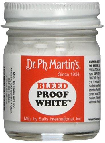 Dr. Ph. Martin 's 400032-xxx verläuft nicht weiß, 1,0Oz (Dr. Martin Ph S Aquarell)