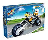 Good Value 140 Piece Police Bike Chopper & 1 ToBee Mini Figure - You Can Use with Major Brands - Makes A Lovely Gift for Christmas, Birthdays for Boys & Girls Age 5+