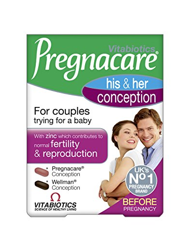Vitabiotics Pregnacare His and Hers Tablets 60 Capsules