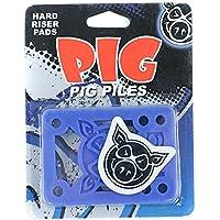 """Pig Piles–Tabla de skate (elevadores duro azul 1/8"""""""