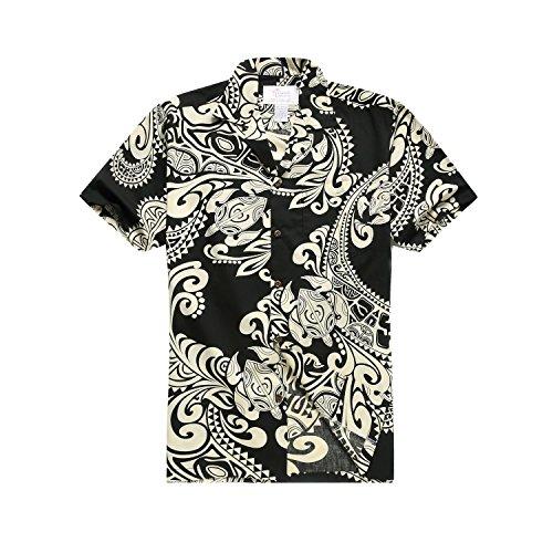 Hawaii-Hangover-camisa-extra-grande-negra-de-los-hombres
