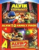 Alvin et les Chipmunks 1 & 2 [Blu-ray] [Import belge]