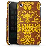 DeinDesign Apple iPhone 3Gs Coque Étui Housse Ornements marrons