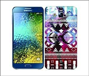 Galaxy Printed 2473 Nebula Tribals NavajoUnfinity Hard Cover for Samsung E5