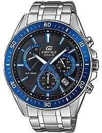 a9c231d76456 Casio Reloj Analogico para Hombre de Cuarzo con Correa en Acero Inoxidable  EFR-552D-