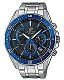 Casio Reloj Analogico para Hombre de Cuarzo con Correa en Acero Inoxidable EFR-552D-1A2VUEF