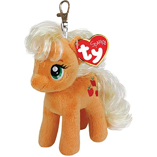 ty-41101-my-little-pony-my-little-pony-clip-apple-jack-10-cm