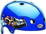 Bell Segment Jr. Kinder Dirt Fahrrad Helm Nitro blau 2016: Größe: S (51-55cm)