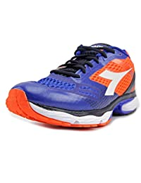 Diadora Men's N-6100-4 Orange/Royal Athletic Shoe