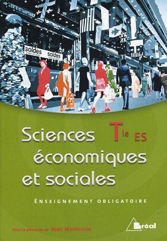 Sciences économiques et sociales Tle ES obligatoire