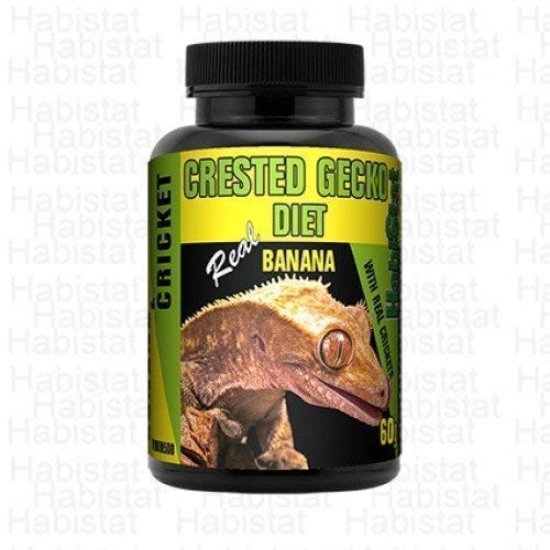 Habistat Crested Gecko Diät Banane & Cricket 60g