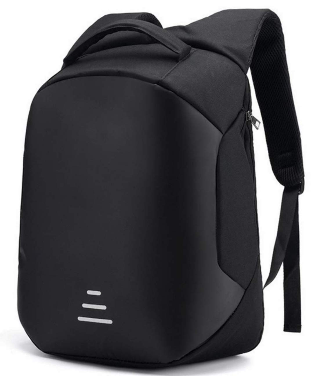 93a0ed27b566 night reflective mens travel backpack personality usb jack computer ...