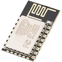 Oumij Module émetteur-Récepteur sans Fil Série ESP8266 ESP-12E de Haute Qualité AP + STA, Version Améliorée ESP8266-12…