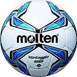 molten Fußball F5V2800, Weiß/Blau/Silber, 5, F5V2800
