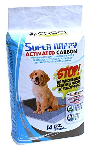Croci C6028170 Super Assorbenti per Pannolini Assorbenti con Carbone Attivo per Cani