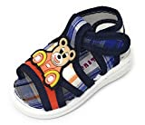 #7: TeeniTiny Summer Sandals with Sound for Baby Boy & Girl/Pre Walker Sandal/Whistle chu chu Sandals - Pink, Blue,Red, Black (6 Months-2 Years)