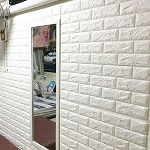 3D de ladrillos papel pintado,3d estéreo de papel pintado adhesivo de pared...
