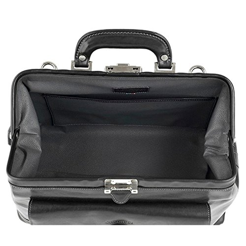 Le sac de Chiarugi italienne médecin en cuir (noir) WlWEn5