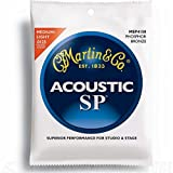 Martin sp studio performance phosphor bronze acoustic guitar stringsmsp4150 12.5-55