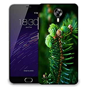 Snoogg Green Branched Tree Designer Protective Phone Back Case Cover For Meizu M2