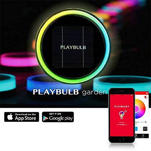Bazaar Mipow PLAYBULB btl400Bluetooth Intelligente LED Licht Solar Garten-Leistung der Lampe-Garten im Freien