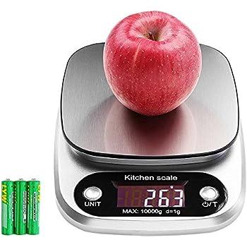 Balance de cuisine electronique balance de precision 10kg 1g hanmir balance num rique cuisine de - Meilleure balance cuisine ...