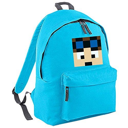 Dan TDM Backpack (Surf Blue/Graphite Grey)
