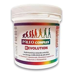Paleocomplex Revolution - Versione potenziata del Paleocomplex che aggiunge 3 importanti ingredienti come glutatione, ubiquinolo e astaxantina, per un potere antiossidante e antiaging formidabile