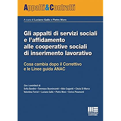 Gli Appalti Di Servizi Sociali E L'affidamento Alle Cooperative Sociali Di Inserimento Lavorativo
