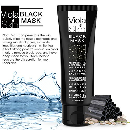 PREMIUM Black Mask - Charcoal Black Face Mask - Blackhead Remover -  Eliminates Blackheads and Reduces Acne and Appearances Of Pores - Deep  Cleansing
