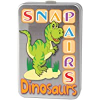 Snap + Pairs Dinosaurs Card Game