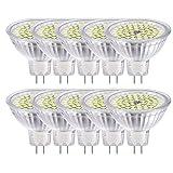 GVOREE MR16 Ampoules LED Spot,AC DC12 Volts, 5W 410lm, 50W Ampoules Halogènes...