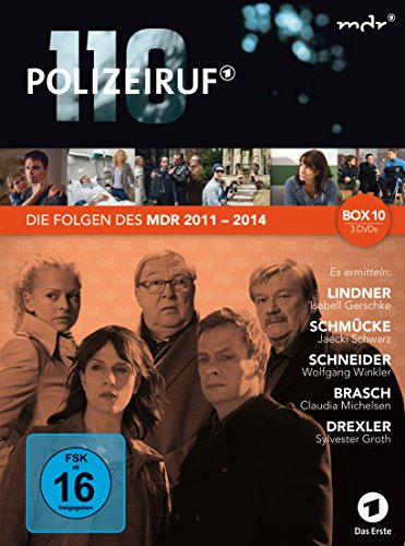Polizeiruf 110 - MDR Box 10 [3 DVDs]