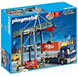 Playmobil 9540 City Action Grúa de Carga eléctrica con camión